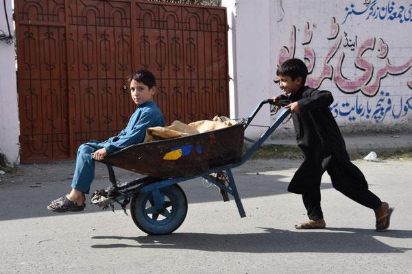 Kinder in Gilgit