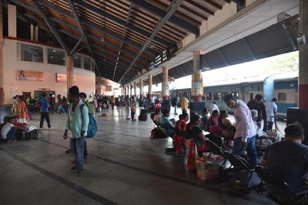 Bahnhof von Madgaon