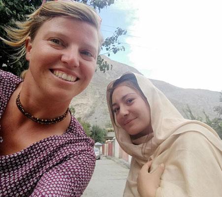 Selfie mit Pakistanerin
