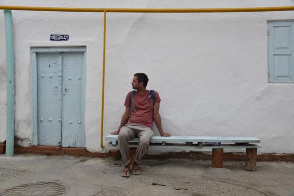 Janus in einer Seitengasse in Buchara