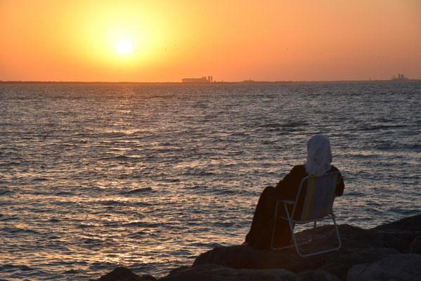 am Hafen von Sharjah