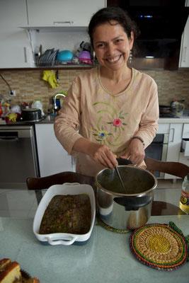 Shabnam, die Küchenfee