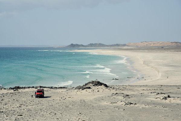 ein weiterer toller Stellplatz auf Masirah Island