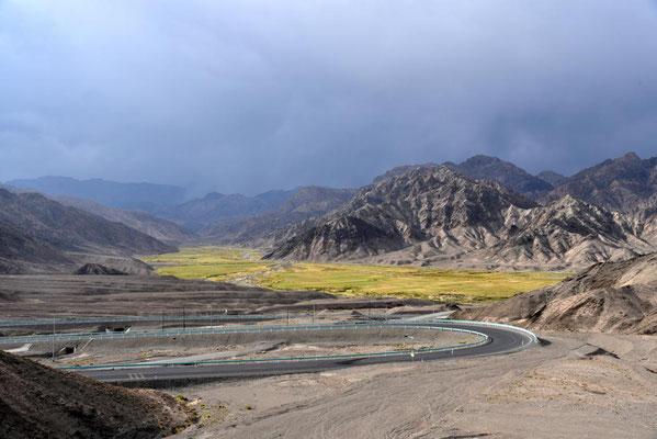 Landschaft nach Kashgar