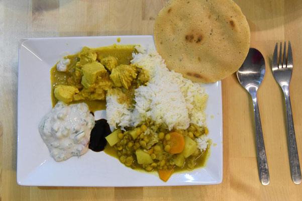 wir kochen mal wieder indisch
