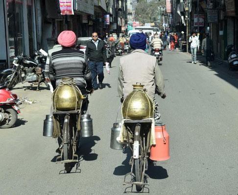 Straßenbild in Amritsar