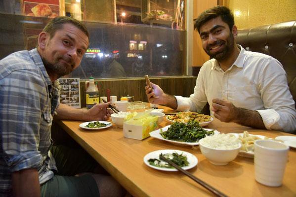 Essenseinladung von Ali zum Chinesen
