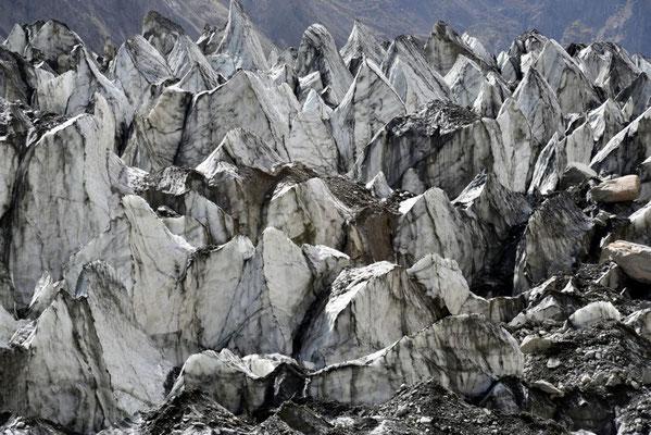 Gletscher Nahaufnahme