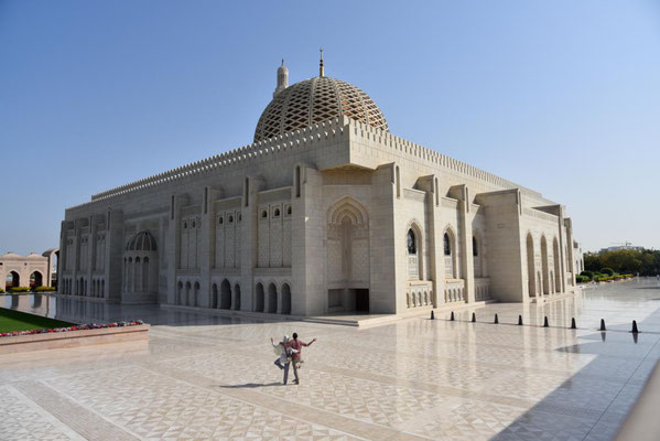 die Moschee von außen