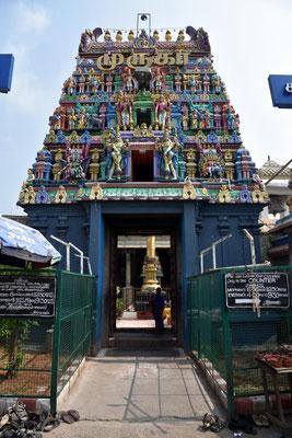 Hintereingang zum Tempel