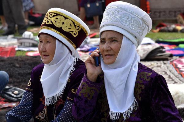 auf dem Festival in Naryn
