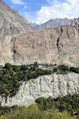 Dorf im Nagyr Valley