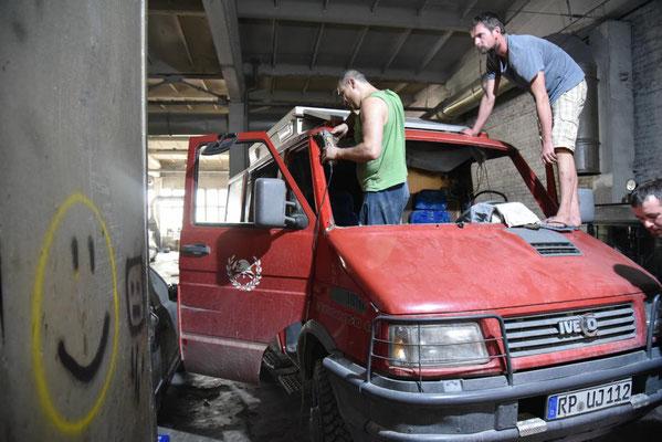 in Vladimirs Werkstatt