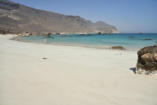eine weitere tolle Bucht in Fizayah