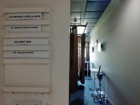 Eingang vom Zimmer