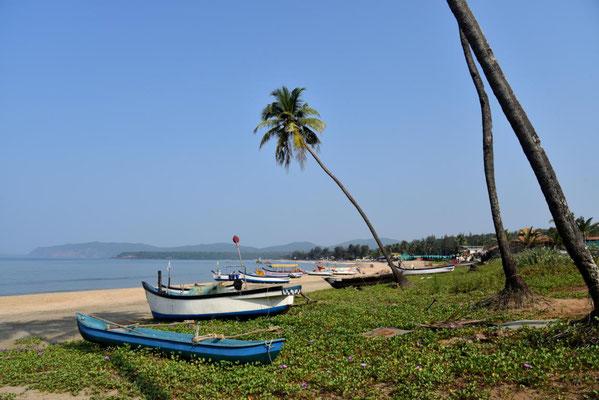 Blick in die Bucht von Agonda