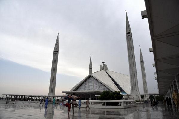 die Raketenmoschee bzw Faisal Mosque