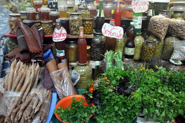 auf dem Markt in Chiatura