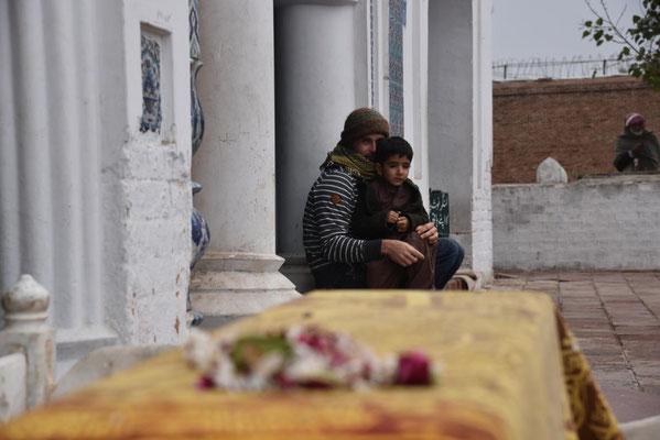 in Multan: Janus und Saifs kleinster Shah Sinan