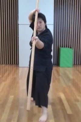 女優伊達の時代劇六尺棒