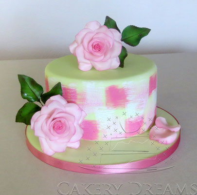 Teehybriden (Rosen) aus Blütenpaste