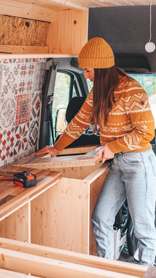 Küche im Van