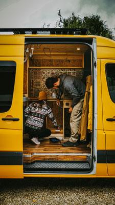 Installation Campervan