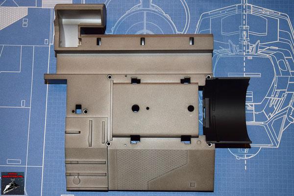 DeAgostini Bau deinen X-Wing Ausgabe 22 Antriebsbefestigung unterer Sublichtantrieb (Kunststoff)