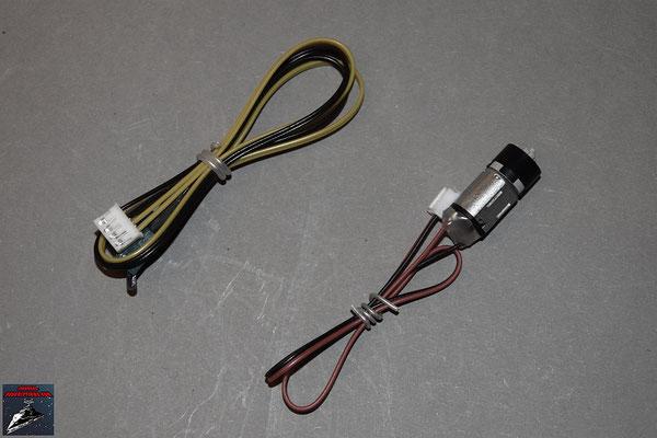 Build your own R2-D2 Ausgabe 37 Motor und Kabel für die Lichtschwerthalterung