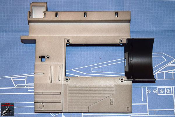 DeAgostini Bau deinen X-Wing Ausgabe 9 Antrieb Befestigung oberer Sublichtantrieb (Kunststoff)