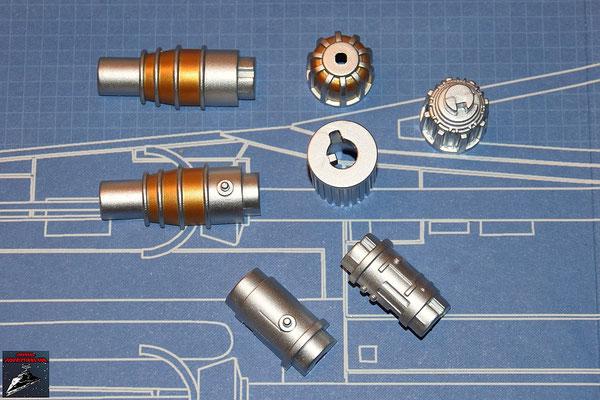 DeAgostini Bau deinen X-Wing Ausgabe 33 Bauteile des Lasergenerators