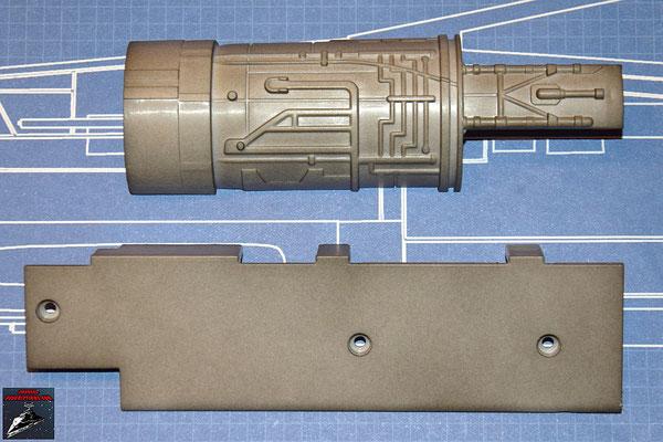 DeAgostini Bau deinen X-Wing Ausgabe 30 Antriebsabdeckung und Abdeckung (Kunststoff)