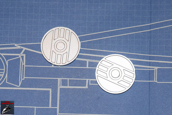 DeAgostini Bau deinen X-Wing Ausgabe 7 Energiekupplungen (Kunststoff)