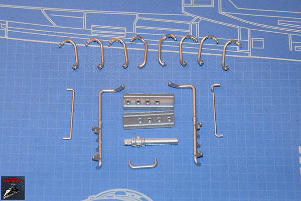 DeAgostini Bau deinen X-Wing Ausgabe 59 Rohrleitungen (Kunststoff)
