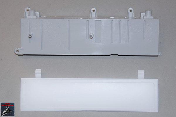 Build your own R2-D2 Ausgabe 78 Rumpfkomponente für die Werkzeugarme und Klappe (Kunststoff)