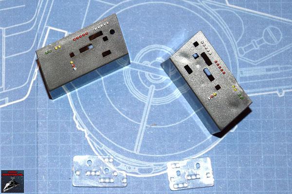 DeAgostini Bau deinen X-Wing Ausgabe 5 Instrumentenpulte und -lichter (Kunststoff)