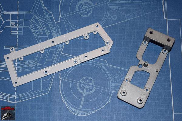 DeAgostini Bau deinen X-Wing Ausgabe 14 Flügelrahmen innen und Verstrebung (Metall)