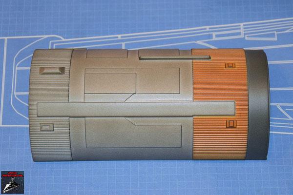 DeAgostini Bau deinen X-Wing Ausgabe 54 Antriebsgehäuse ober Hälfte (Kunststoff)