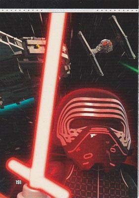 LEGO Star Wars Tradings Cards Serie 2 Karte 191
