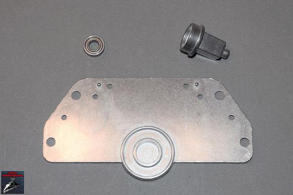 Build your own R2-D2 Ausgabe 49 Innere Radhalterung linkes Bein (Metall)