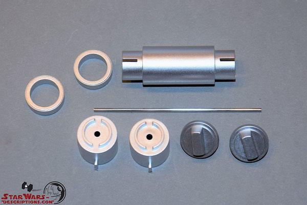 Build your own R2-D2 Ausgabe 90 Details für das mittlere Bein