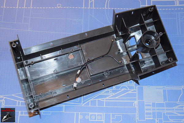 DeAgostini Bau deinen X-Wing Ausgabe 66 Hinterer Rumpfboden (Kunststoff)