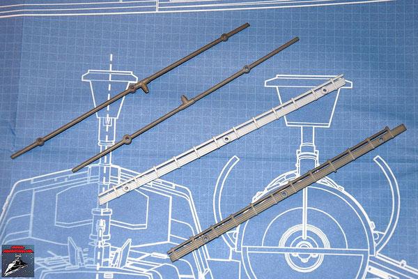 DeAgostini Bau deinen X-Wing Ausgabe 22 Kabel und Rohre für den unteren Backbordflügel (Kunststoff)