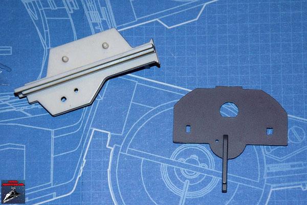DeAgostini Bau deinen X-Wing Ausgabe 16 Flügelhinterkante und interne Trennwand (Kunststoff)