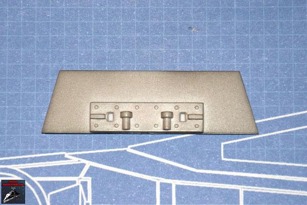 DeAgostini Bau deinen X-Wing Ausgabe 8 Verstrebung Flügelwurzel oberer Steuerbordflügel (Kunststoff)