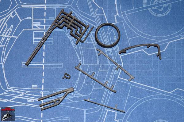DeAgostini Bau deinen X-Wing Ausgabe 13 Schließring und 7 Anbaudetails