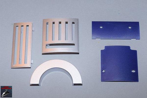 Build your own R2-D2 Ausgabe 85 Schulterstück und Details für den Rumpf (Kunststoff)