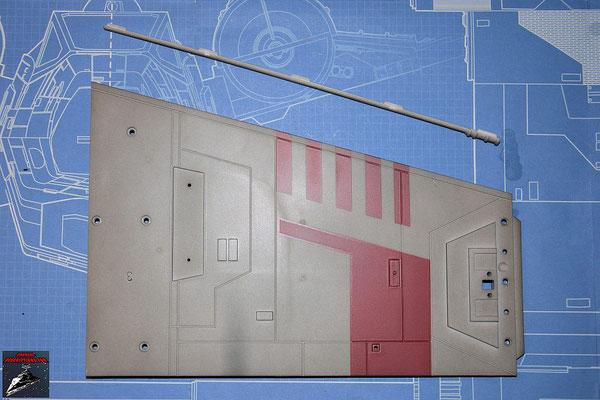 DeAgostini Bau deinen X-Wing Ausgabe 51 Flügeloberseite und Detail Hinterkante (Kunststoff)