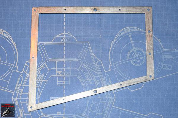 DeAgostini Bau deinen X-Wing Ausgabe 52 Flügelrahmen (Metall)