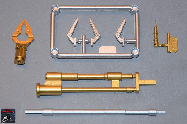 Build your own R2-D2 Ausgabe 78 Einzelteile für die Werkezeugarme (Kunststof)